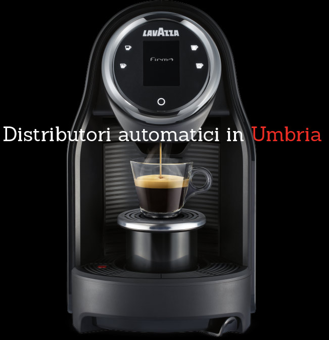 distributori automatici in Umbria